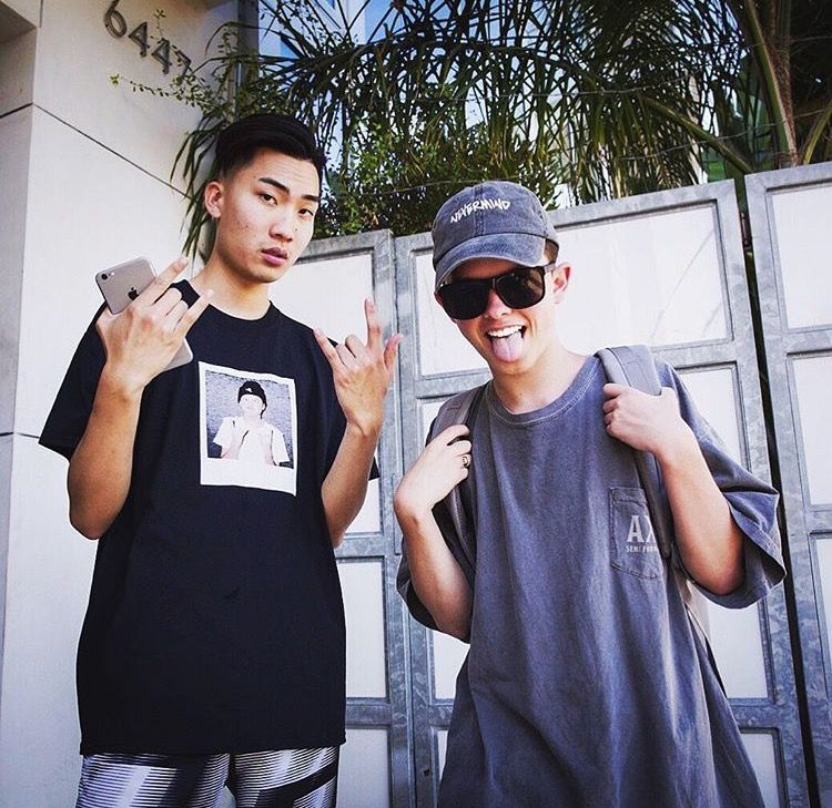 684b5efc46 I love how now he s chill with ricegum even though all the things he said  about Jacob❤️