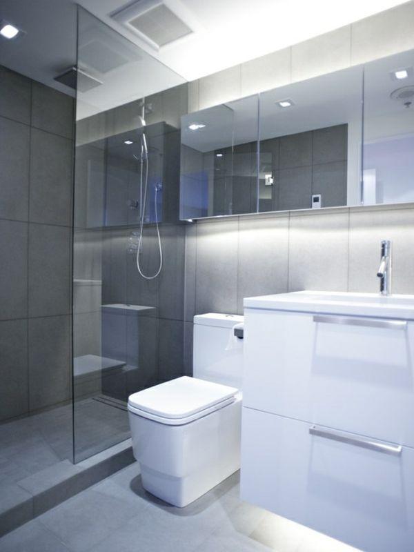 Kleines Bad Einrichten Nehmen Sie Die Herausforderung An Moderne Kleine Bader Modernes Kleines Badezimmerdesign Modernes Badezimmerdesign