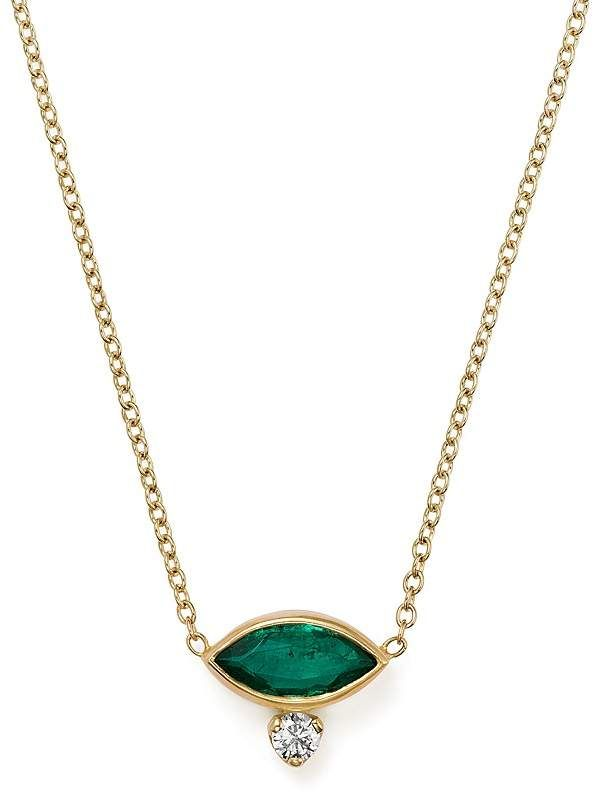 Zoe Chicco 14k Yellow Gold Diamond Amp Gemfields Emerald