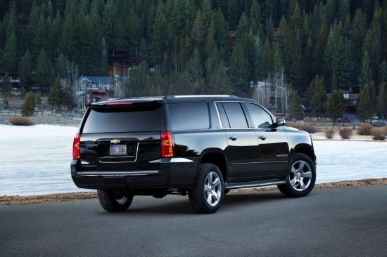 2015 Chevrolet Suburban Exterior | Highlights Include A Quieter,  Higher Quality Interior, A