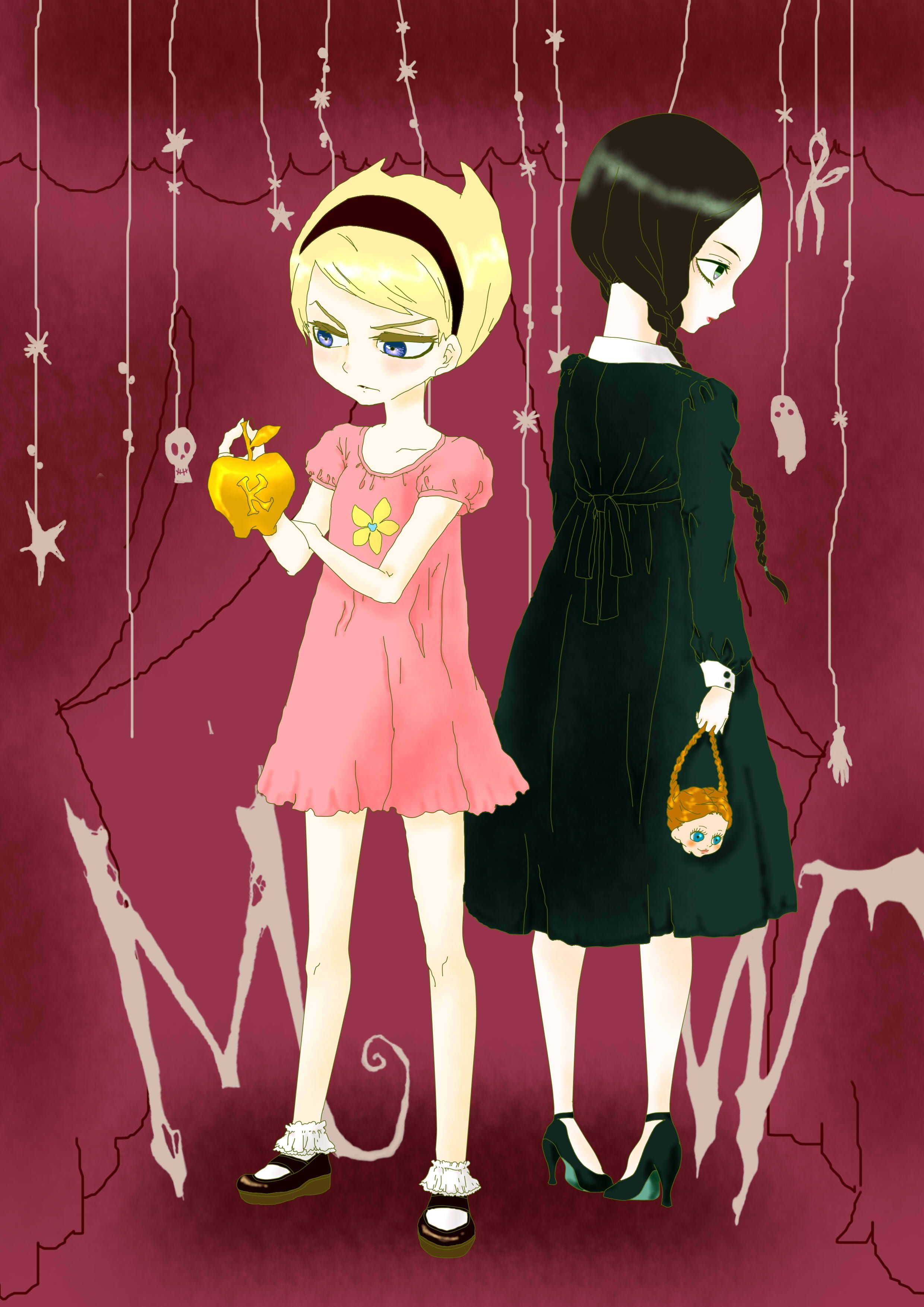 the grim adventures of billy and mandy mandy and wednesday