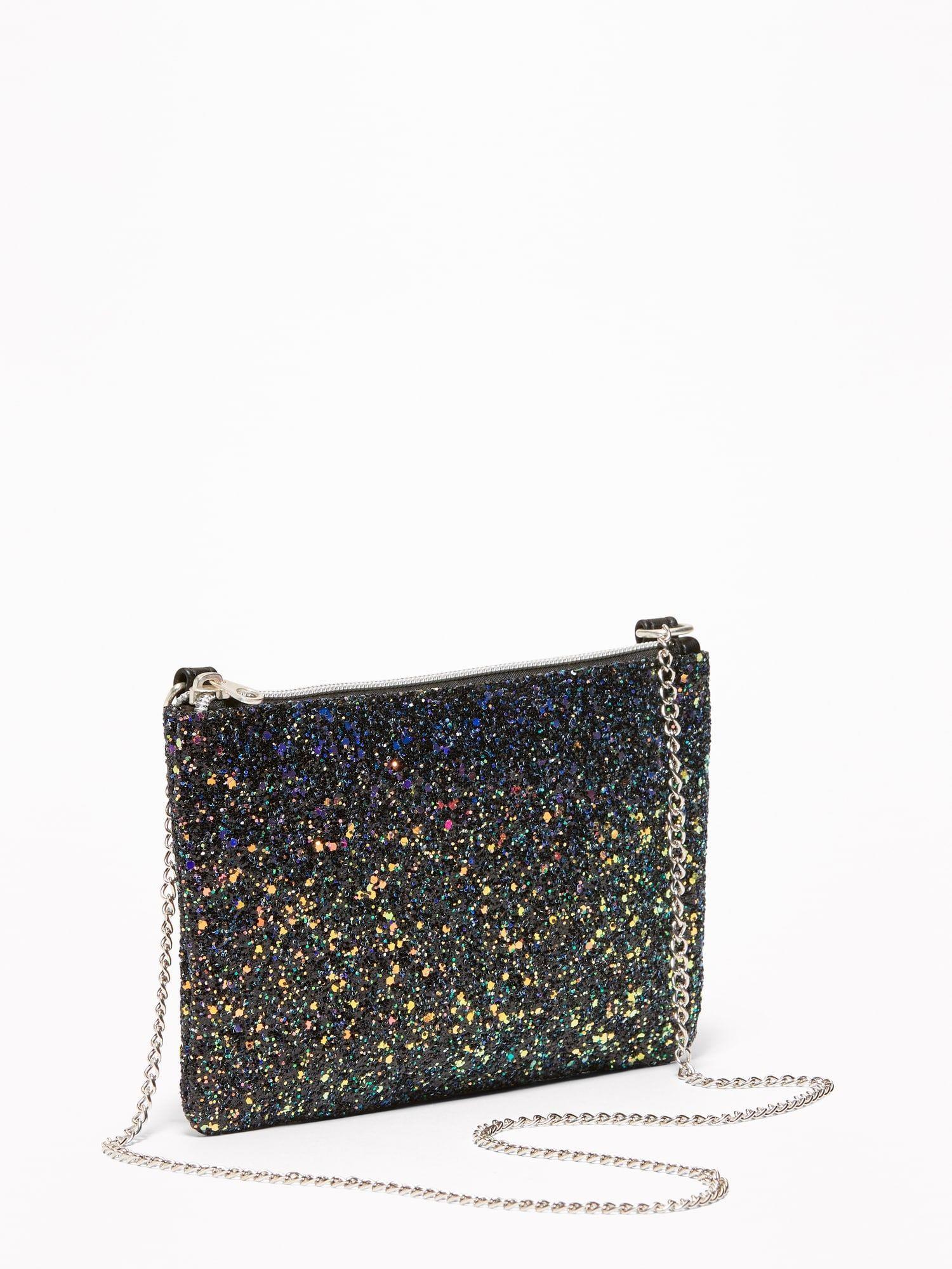 d5761f9ecfa Glitter Zip-Top Purse for Girls