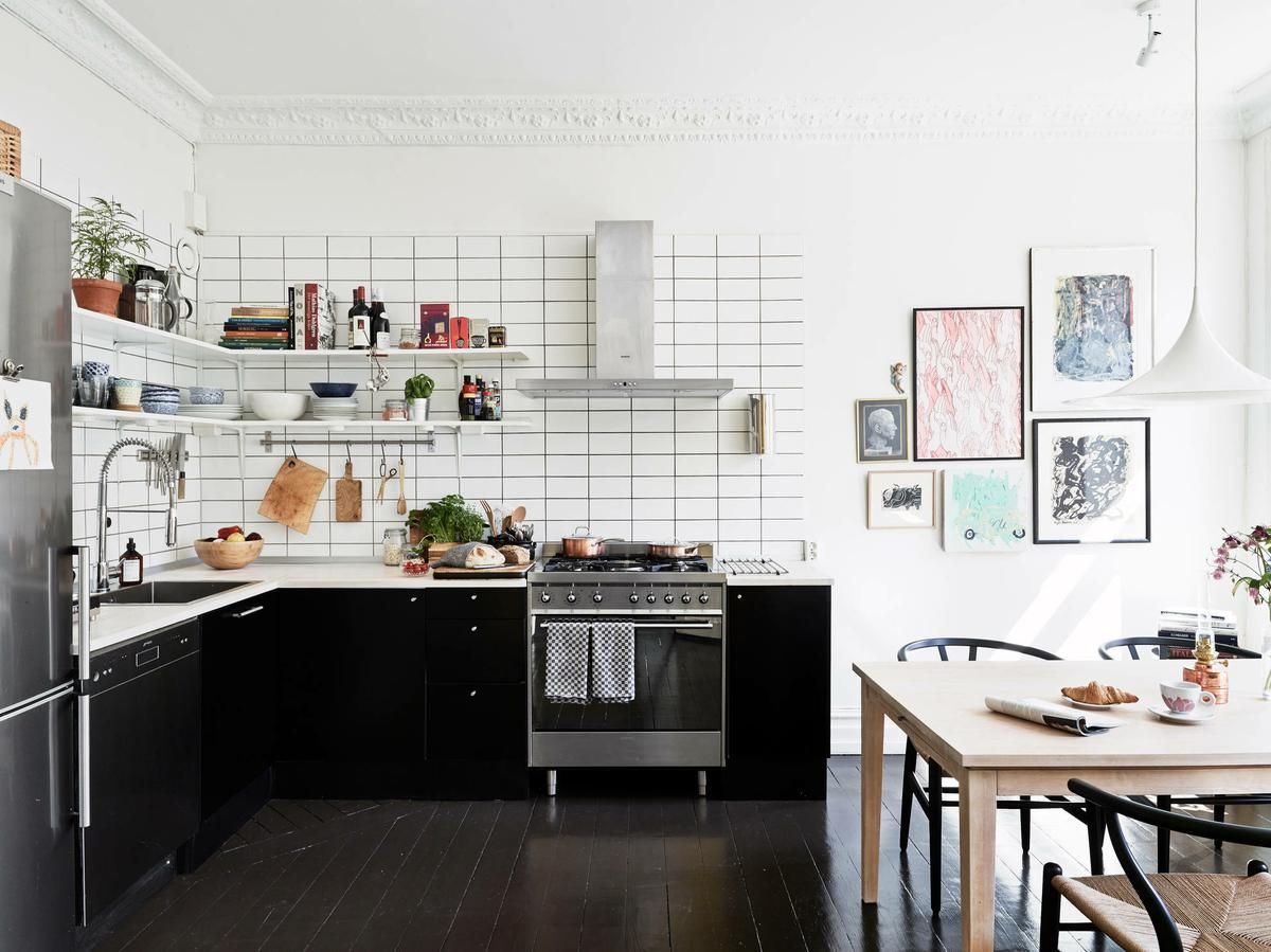 Hermosa Casa con Pisos Negros | Decorar tu casa es facilisimo.com