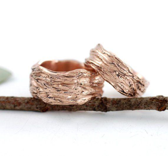 Beth Cyr Wedding Rings Recycled Gold Organic Metal Desire Of My
