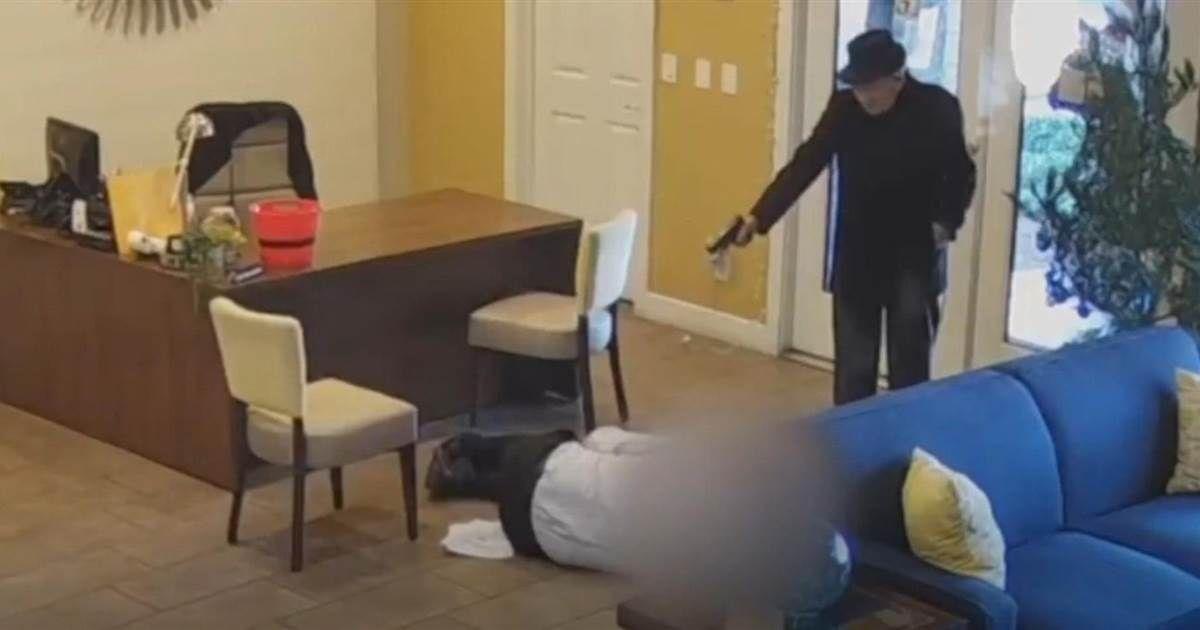 Video Clip Shows Las Vegas Man, 93, Open Fire On Apartment
