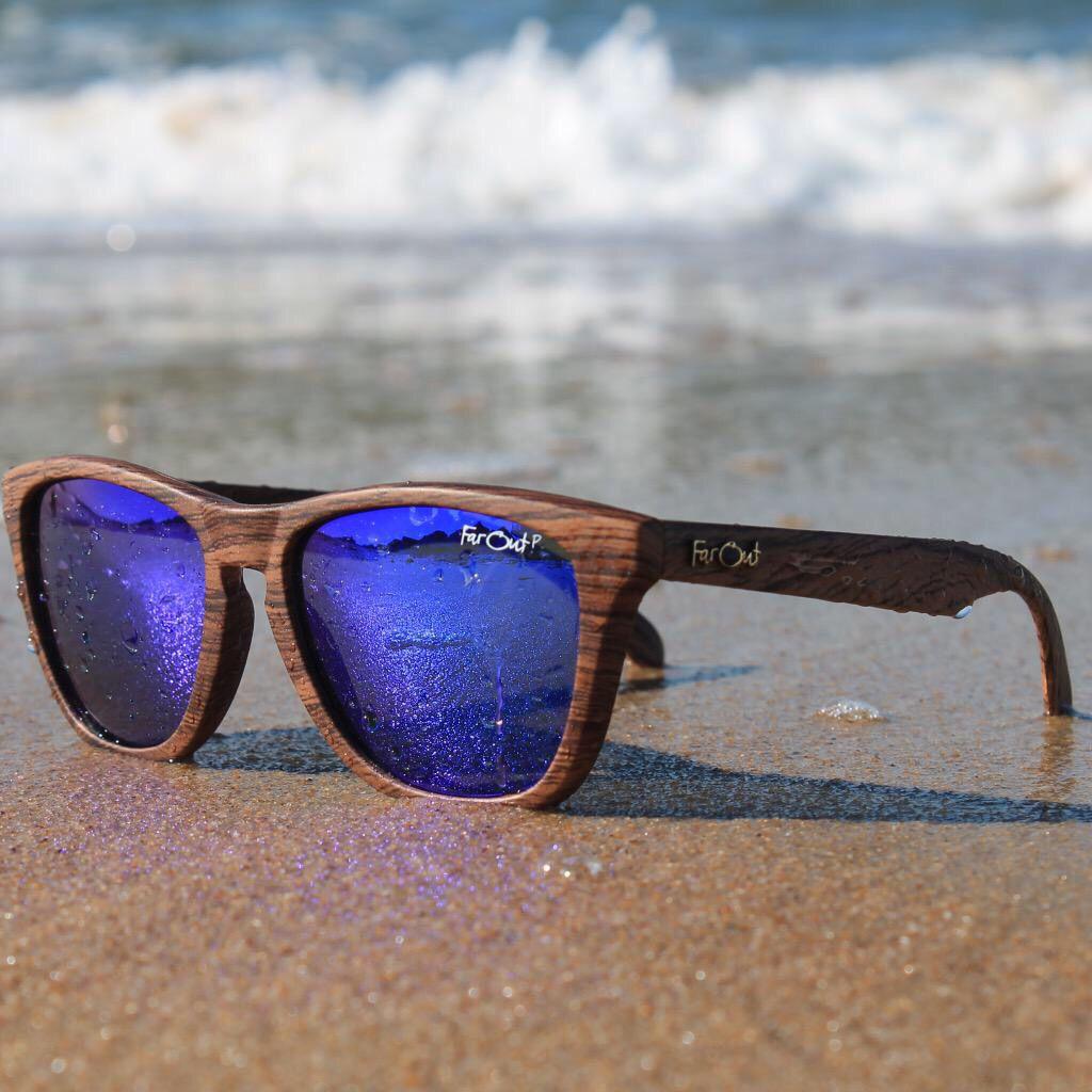 Wood grain sunglasses new. RayBan ... 05b4d91bbdaf1