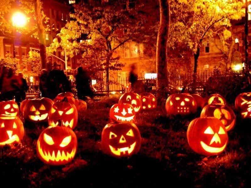 Različni Halloween partyji po Sloveniji