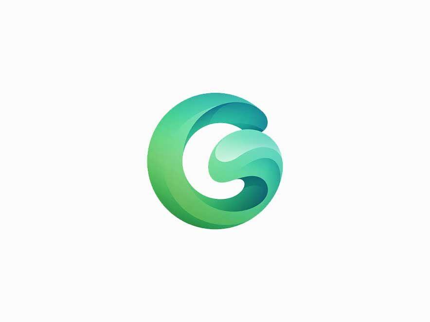 Letter G Logo Logo Inspiration Logos Design Lettering