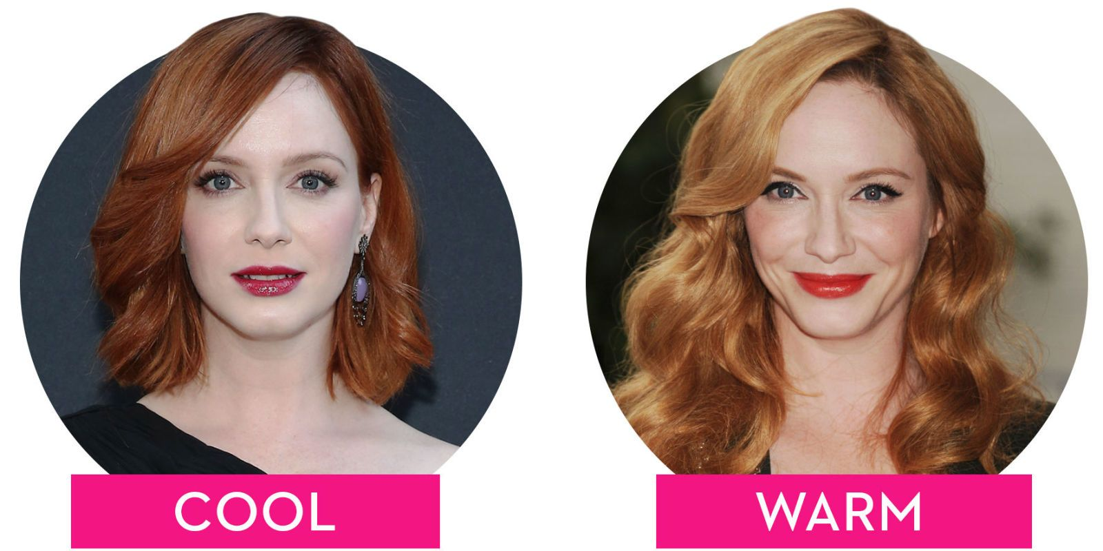 Cool Vs Warm How The Tone Of Your Hair Can Totally Change Your Look Red Hair For Cool Skin Tones Cool Tone Hair Colors Warm Hair Color