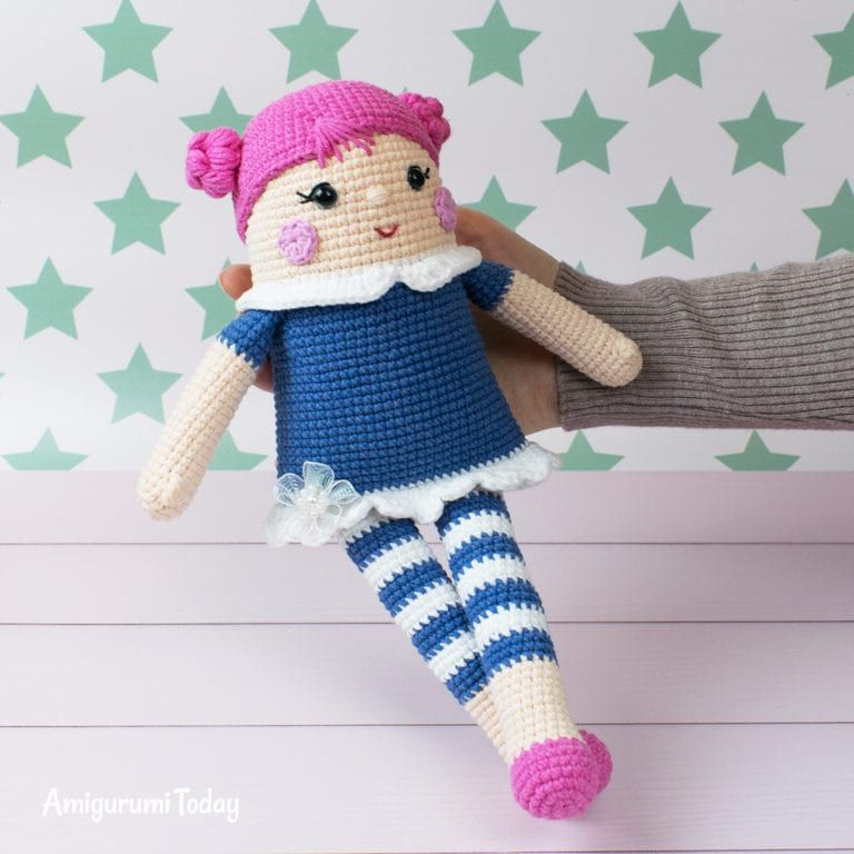 Crochet bears with heart pattern - Amigurumi Today   768x768