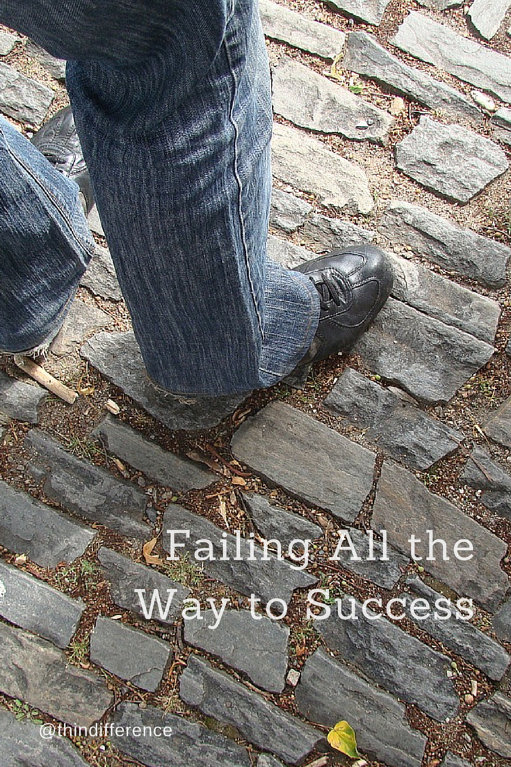 What if our perceived failures are just stepping stones on our path toward success?