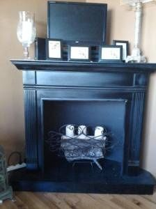 Diy Faux Corner Fireplace Google Search