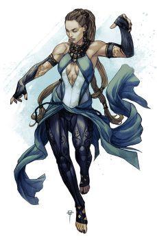 Ymru the Elementalist by Spacefriend-T