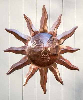 Radiant Sun From Walpole Woodworkers Copper Decor Copper Rose Gold Decor