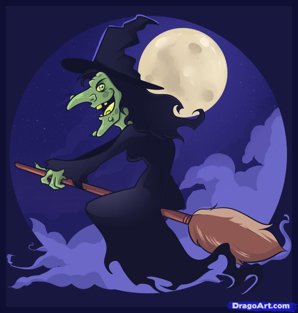 how to draw witches step by step witches monsters free online