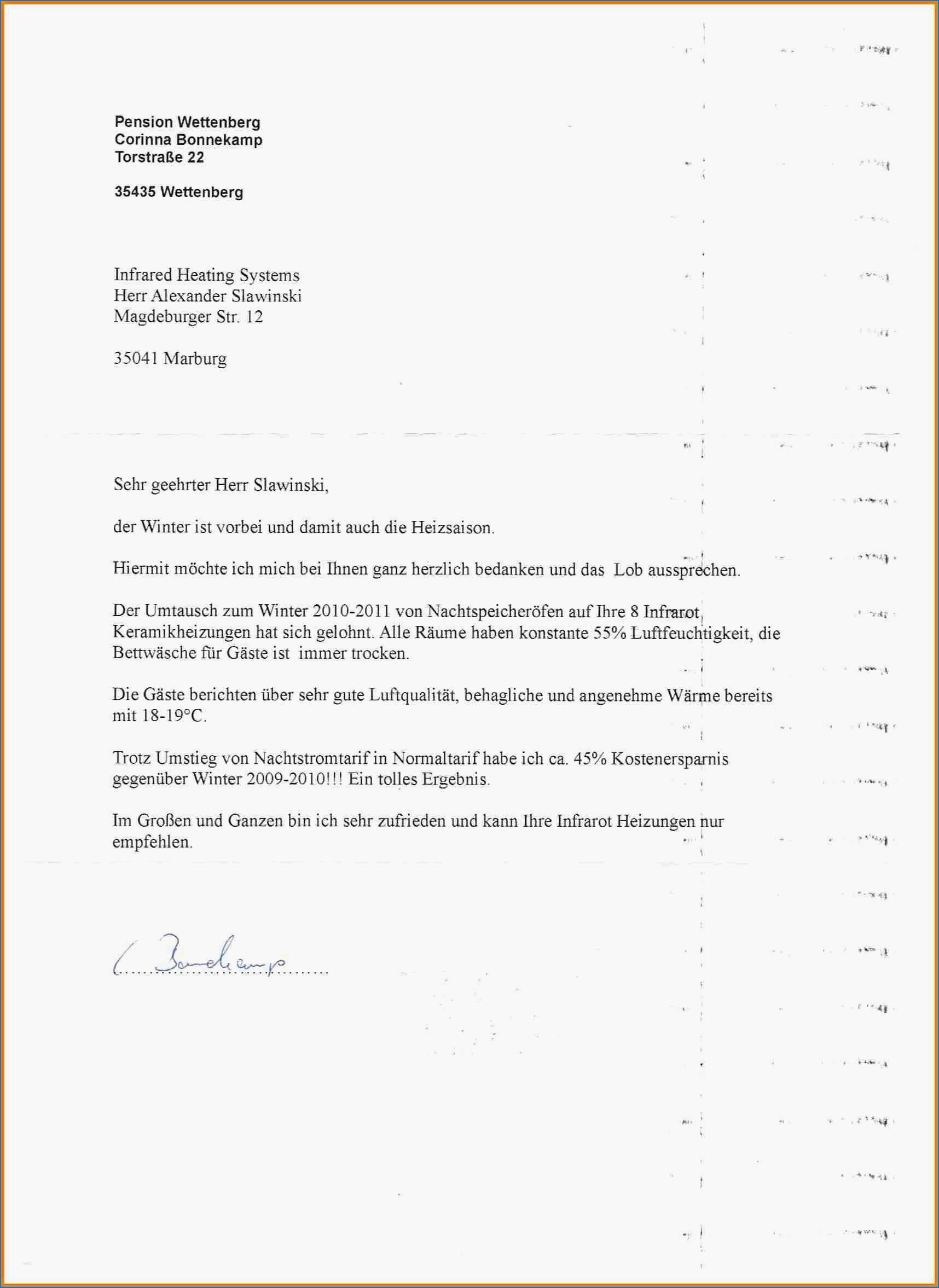 Deutsch B2 Einen Brief Schreiben Eine Beschwerde 7