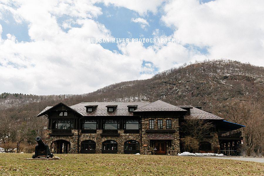 Winter Wedding At Bear Mountain Inn Hudson Valley Wedding