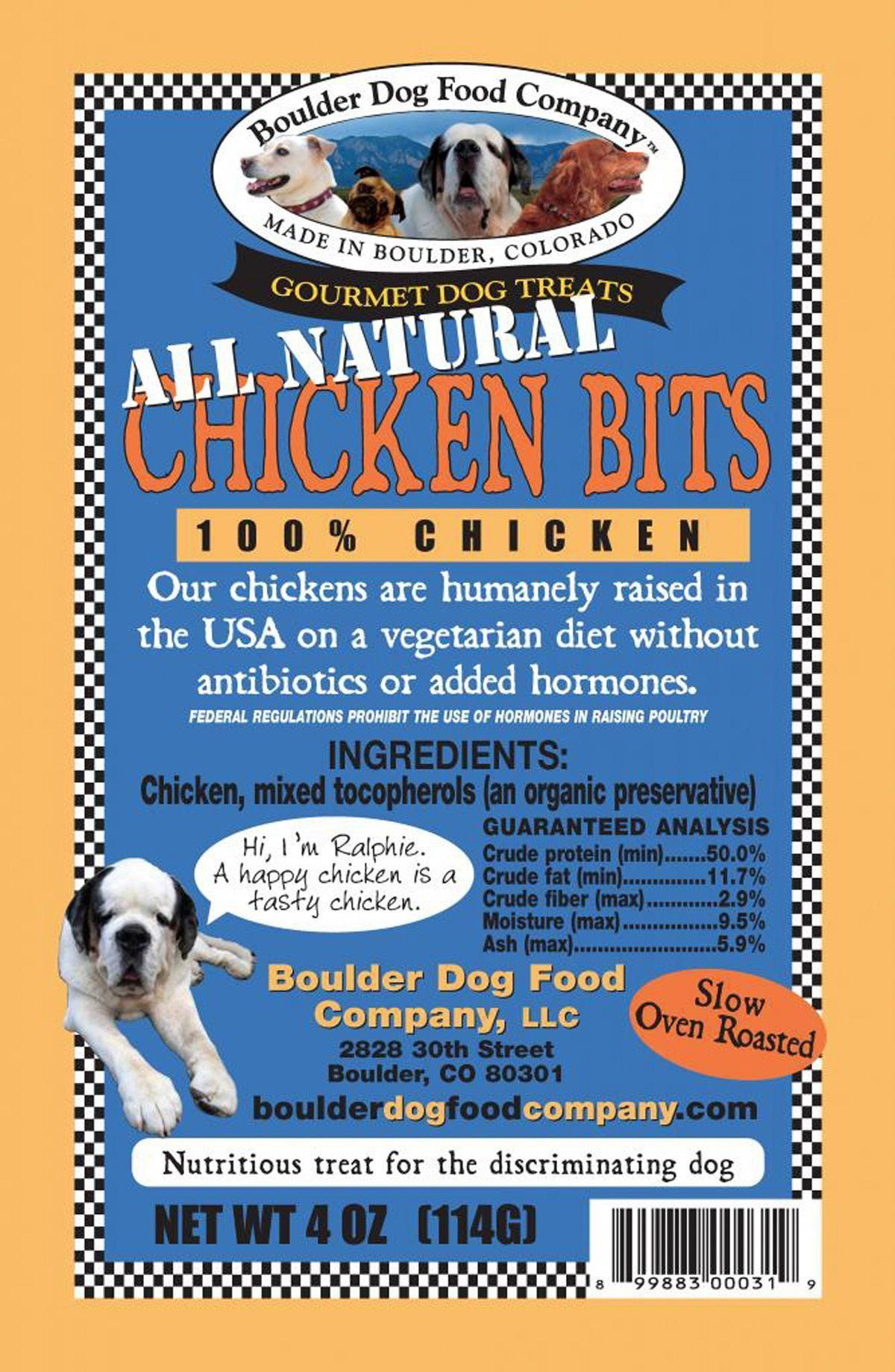 Chicken Bits Boulder Dog Food Company Dogtreatrecipes