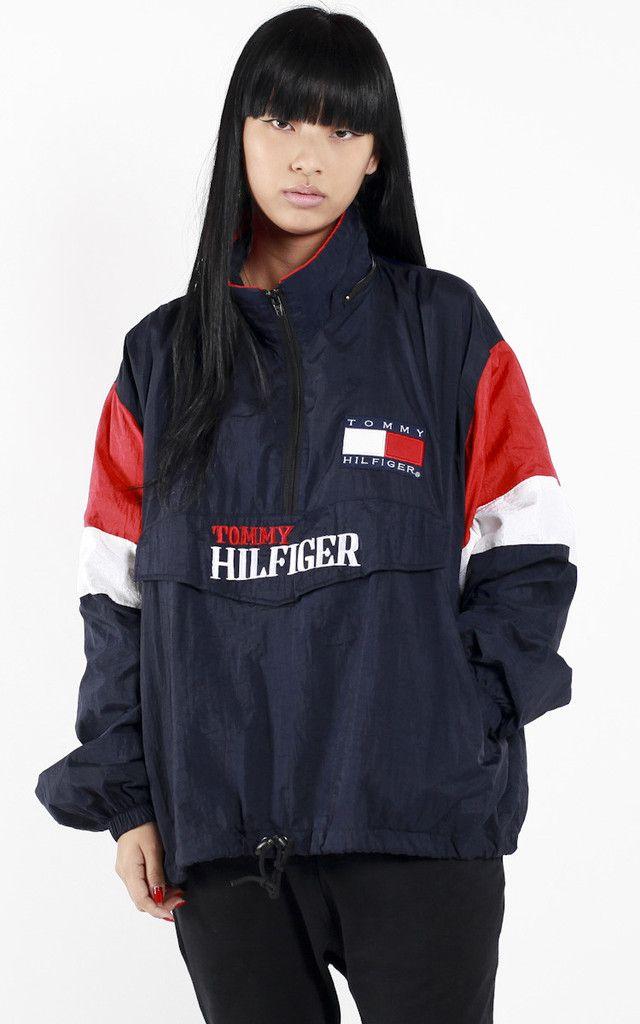 Vintage Tommy Hilfiger Windbreaker Jacket | Tommy hilfiger