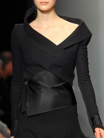 Sheath Long Sleeve Solid Elegant Top