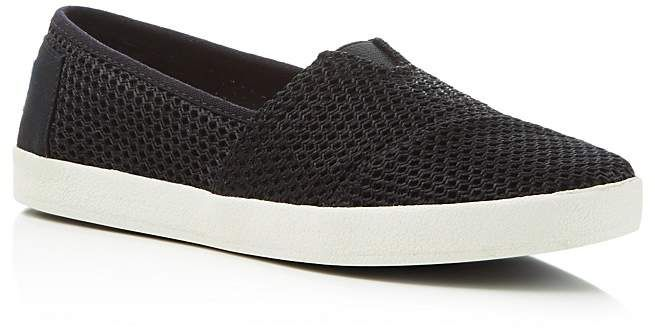 8a9fee590f7 Toms Women s Avalon Layered Mesh Slip-On Sneakers
