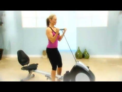 Best All Around Activities For Fitness And Strength Stamina Bike Rower Machine Review Youtube Biking Workout Recumbent Bike Workout Bike
