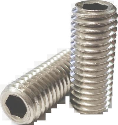 Grub Screws - Stainless Steel