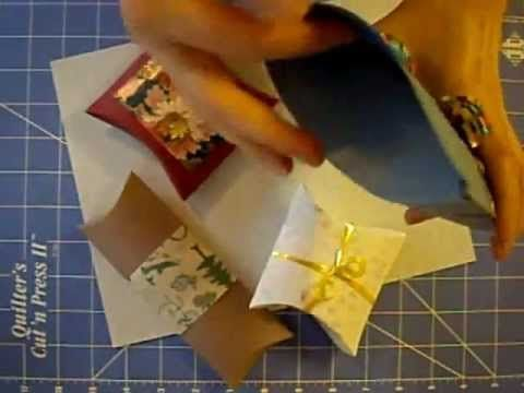 How to Make Cardstock Gift Boxes- Great quick tutorial! Endless uses