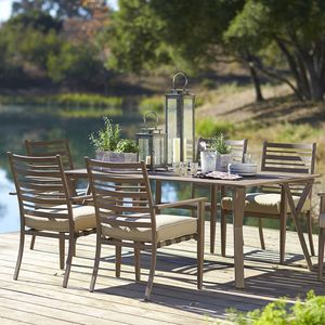 point reyes collection 7 piece dining set dining furniture