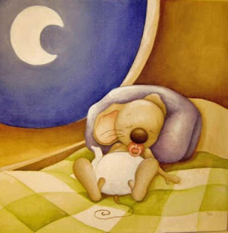 Спокойной ночи мышки веселые картинки, композиция для открытки