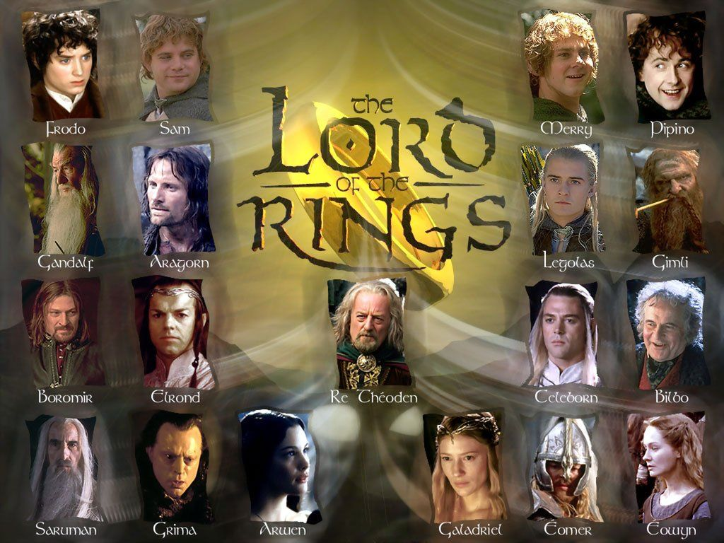 Characters of the Lord of the Rings: to embrace the immensity 39