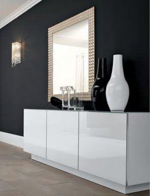 Idecoraa moderno aparador modelo 1 for the home for Aparadores blancos modernos