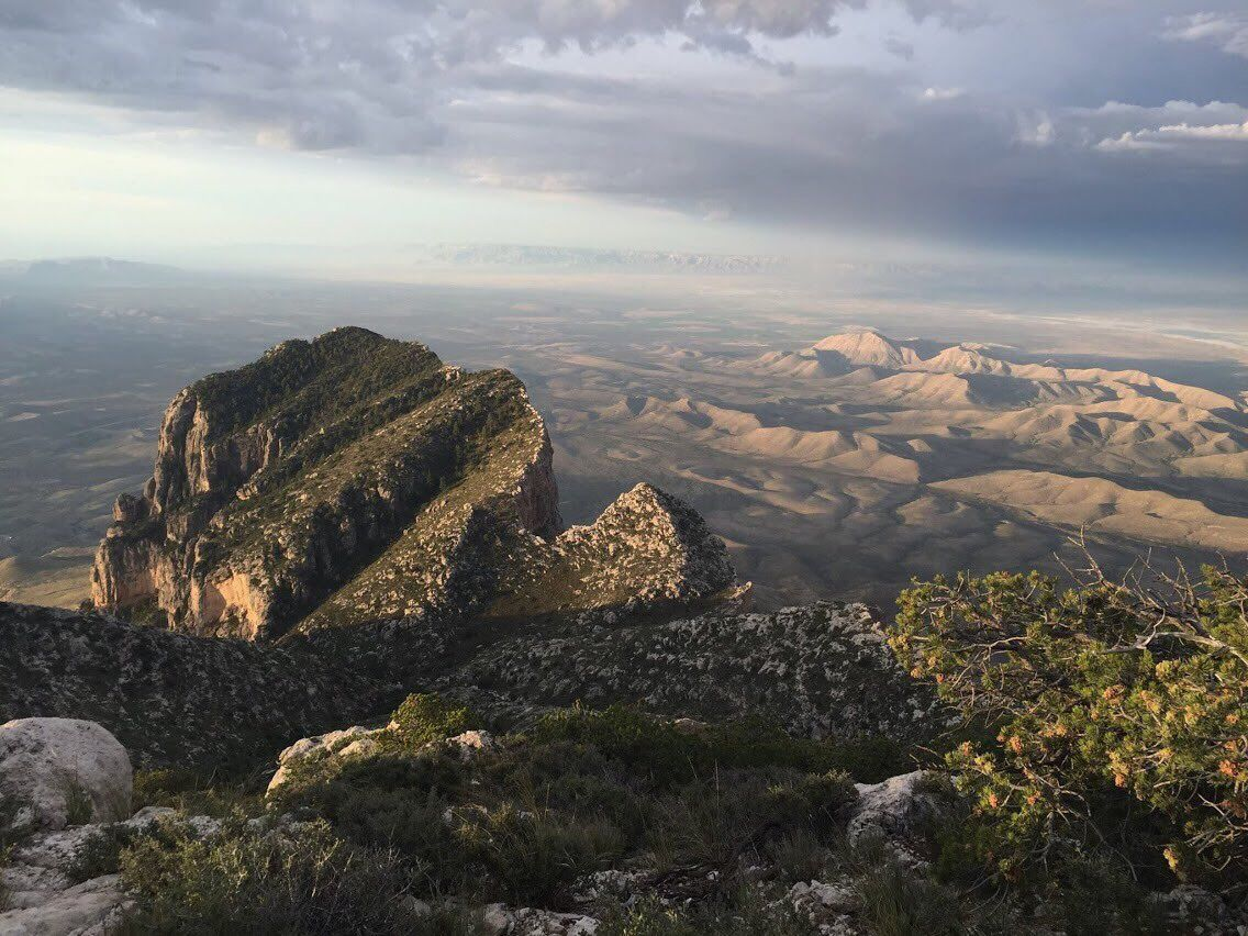 US Department of the Interior on Guadalupe mountains
