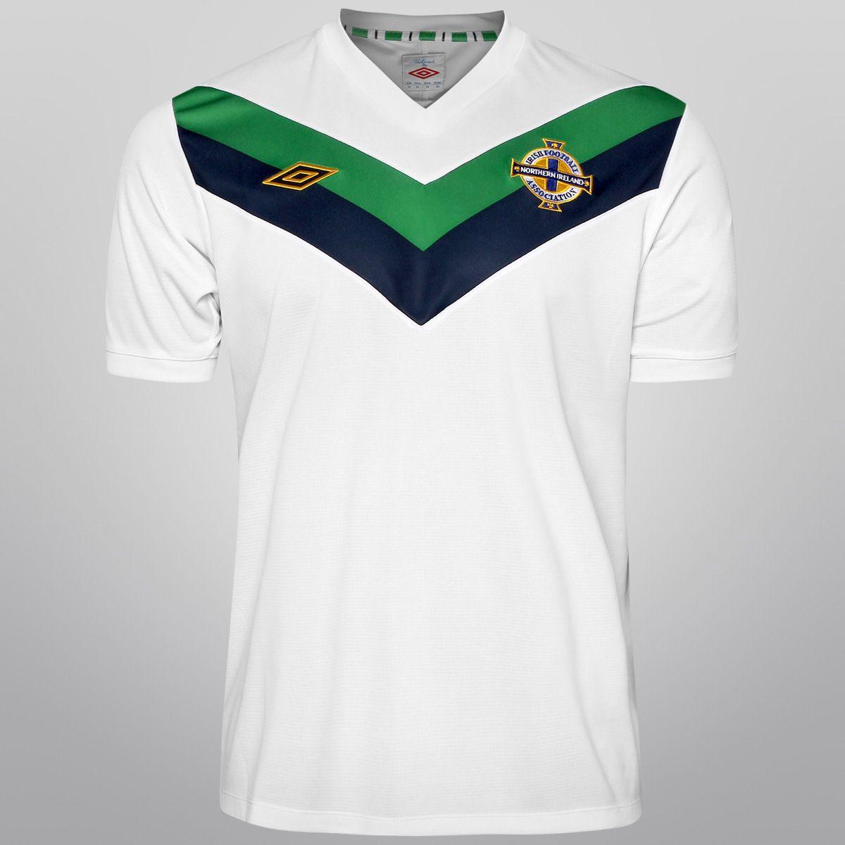 3186cd10a29a2 Netshoes - Camisa Umbro Seleção Irlanda do Norte Away 11 12 s n ...