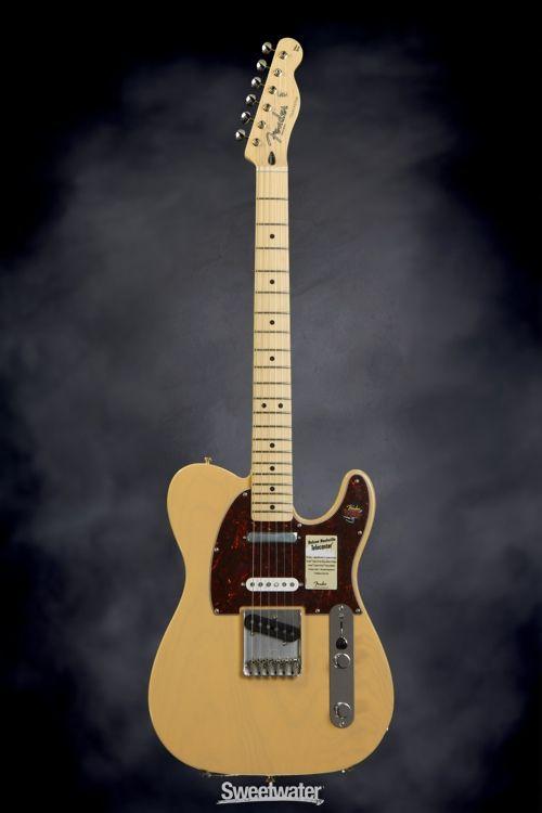 Fender Deluxe Nashville Tele Maple Fingerboard Honey Blonde Telecaster Guitar Squier