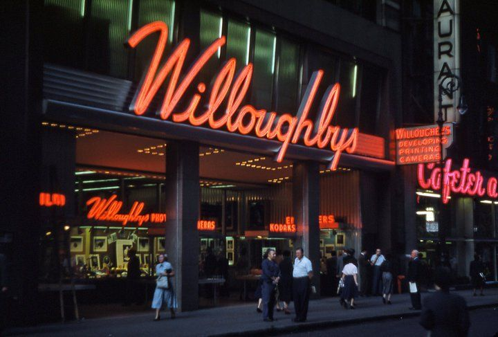 willoughby 39 s camera nyc old store front circa 1953 willoughby 39 s vintage photos. Black Bedroom Furniture Sets. Home Design Ideas
