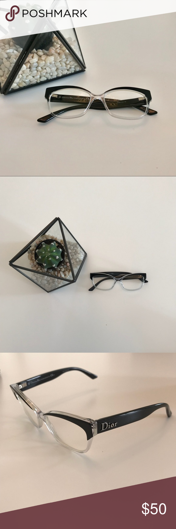 10bef43546 Crystals · Dior 3197 Eyeglasses Black ...