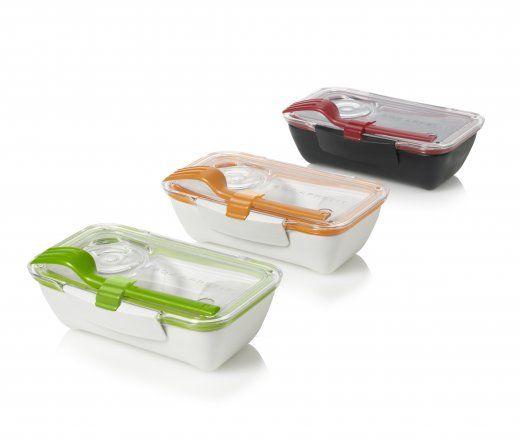 Blum Bento Lunch Box Lunchbox Lime Orange Pink Or Black Blue Black