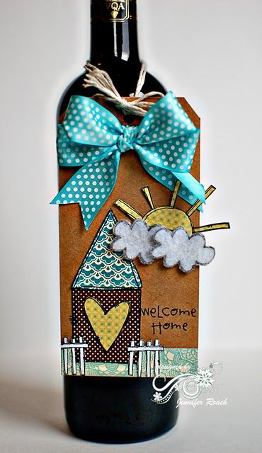 tag for wine bottle gift