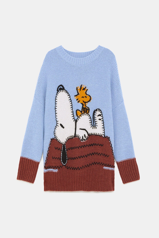 67c74ea4 Snoopy® peanuts jacquard sweater | 2018 Prep Lust List | Snoopy ...