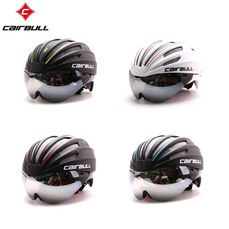 Men Women Bicycle Helmet Mountain Road MTB Bike Ultralight Cycling Helmet Lenses