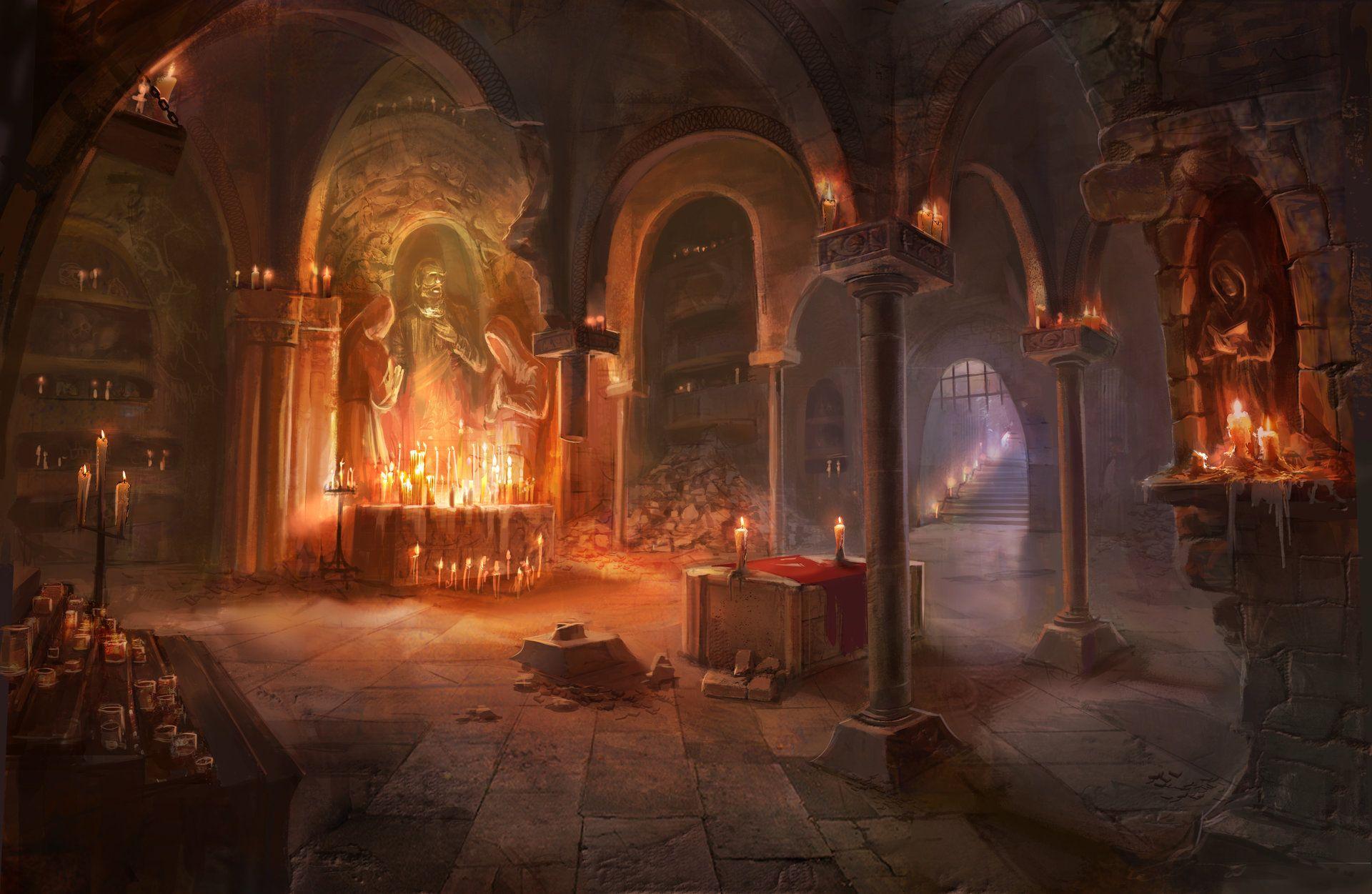 ArtStation - crypt, robin lhebrard