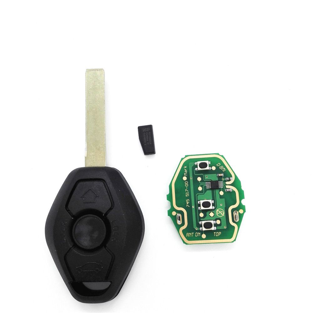 3 Buttons General Straight Remote Car Key 433 315mhz Conversion