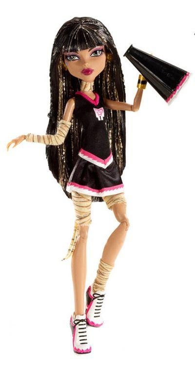 Cleo la capitana de las asustadoras de Monster High | Cleo ...