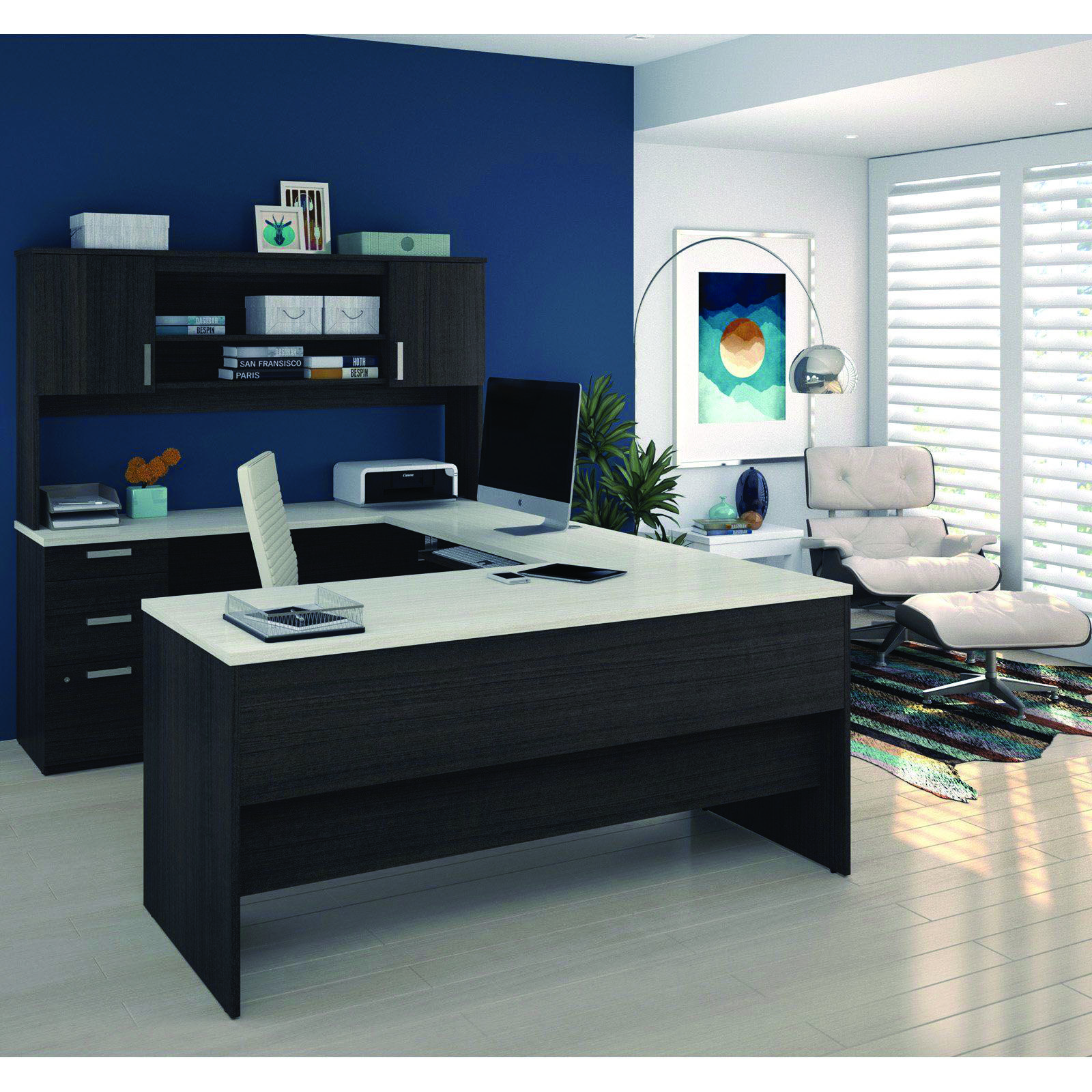 Small Office 10 Large Concept Ideas U Shaped Office Desk Home Office Furniture Home Office Design