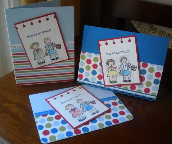 Teacher Thank You Cards by Disneywed - Cards and Paper Crafts at Splitcoaststampers