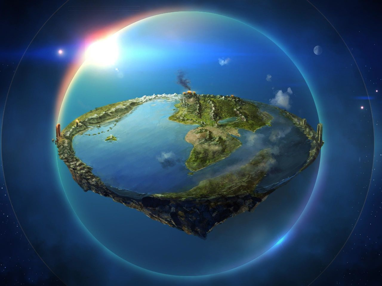 Map For Lord Of The Rings%0A Earth Elemental God   Mundo Nerd   Nerd  TOP    curiosidades sobre a Terra