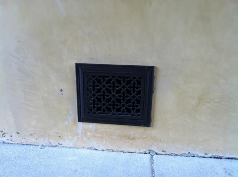Outdoor Vent Covers >> Heritage Decorative Vent Cover Decorative Vent Covers Vent