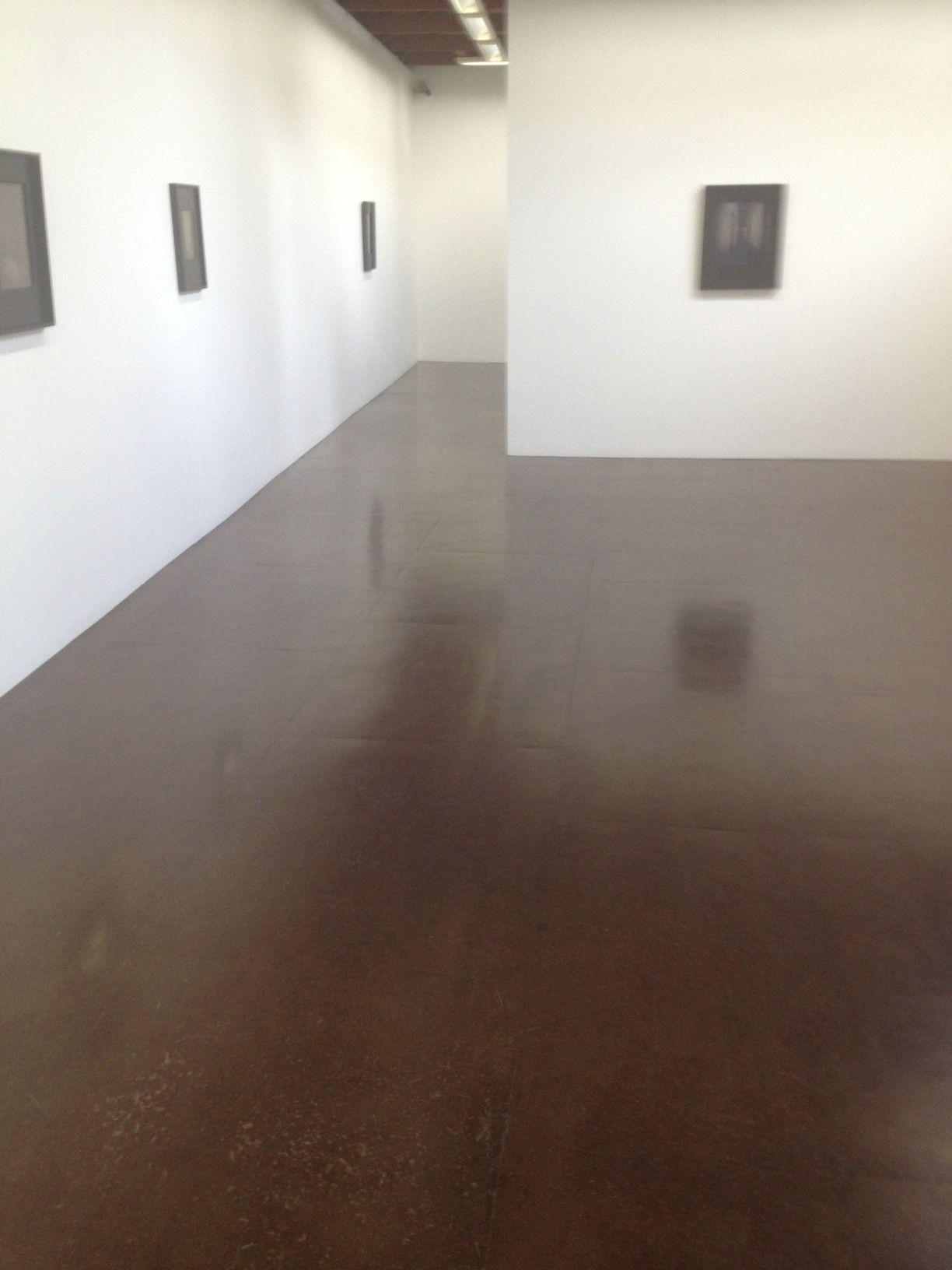 Masonite Floor At Darren Knight Gallery