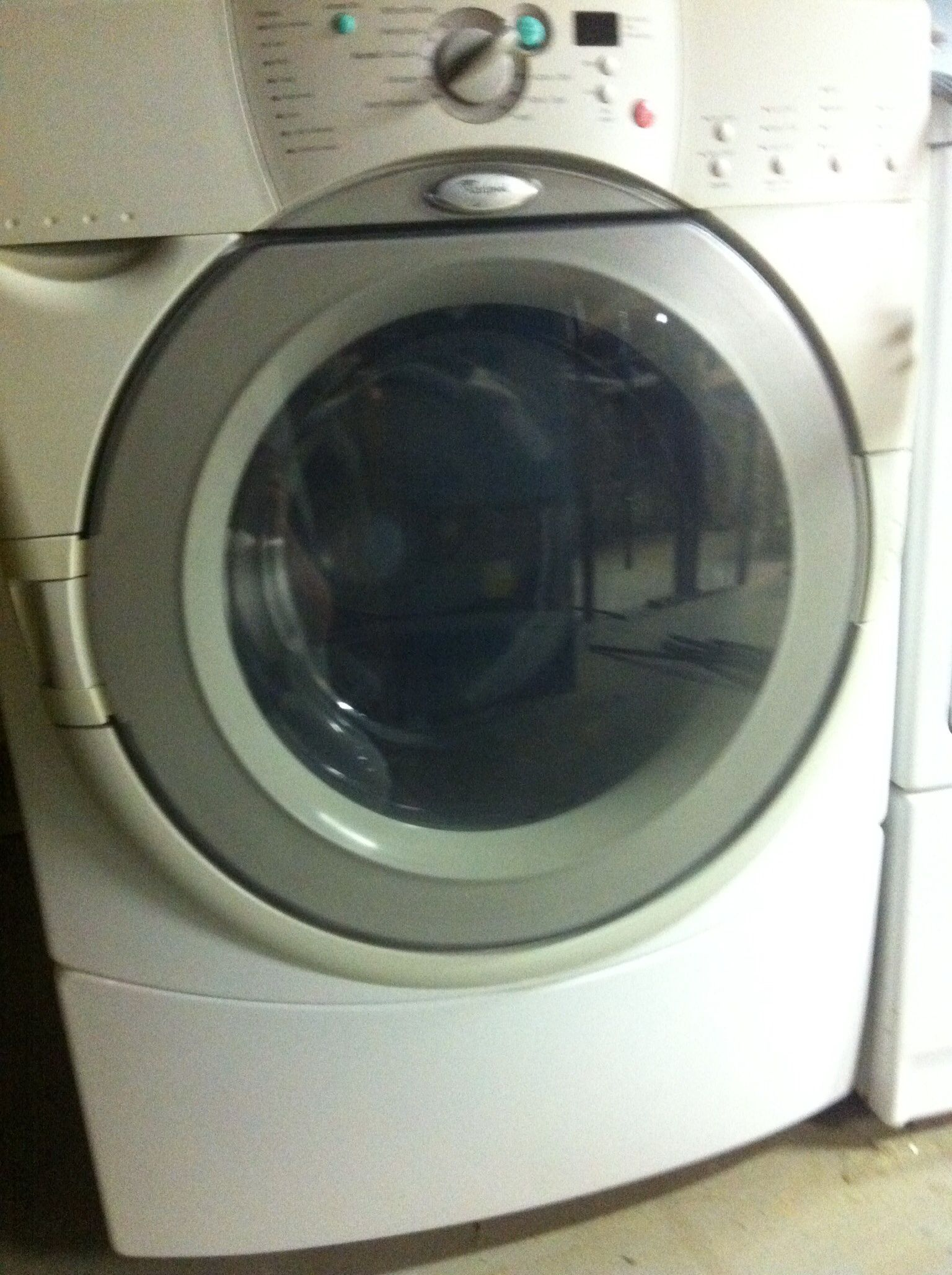 whirlpool washerdryer in garage sale in plymouth ma for